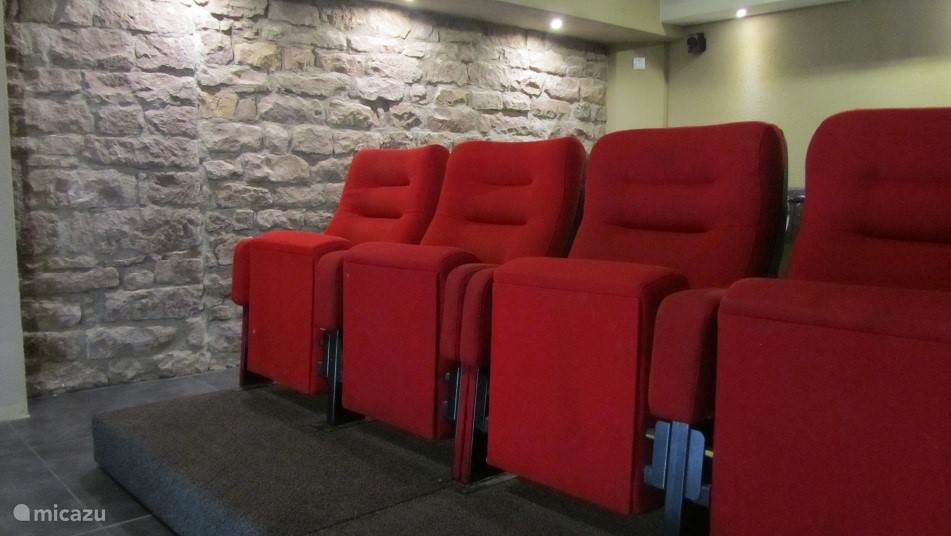 cinema with authentic cinema seats