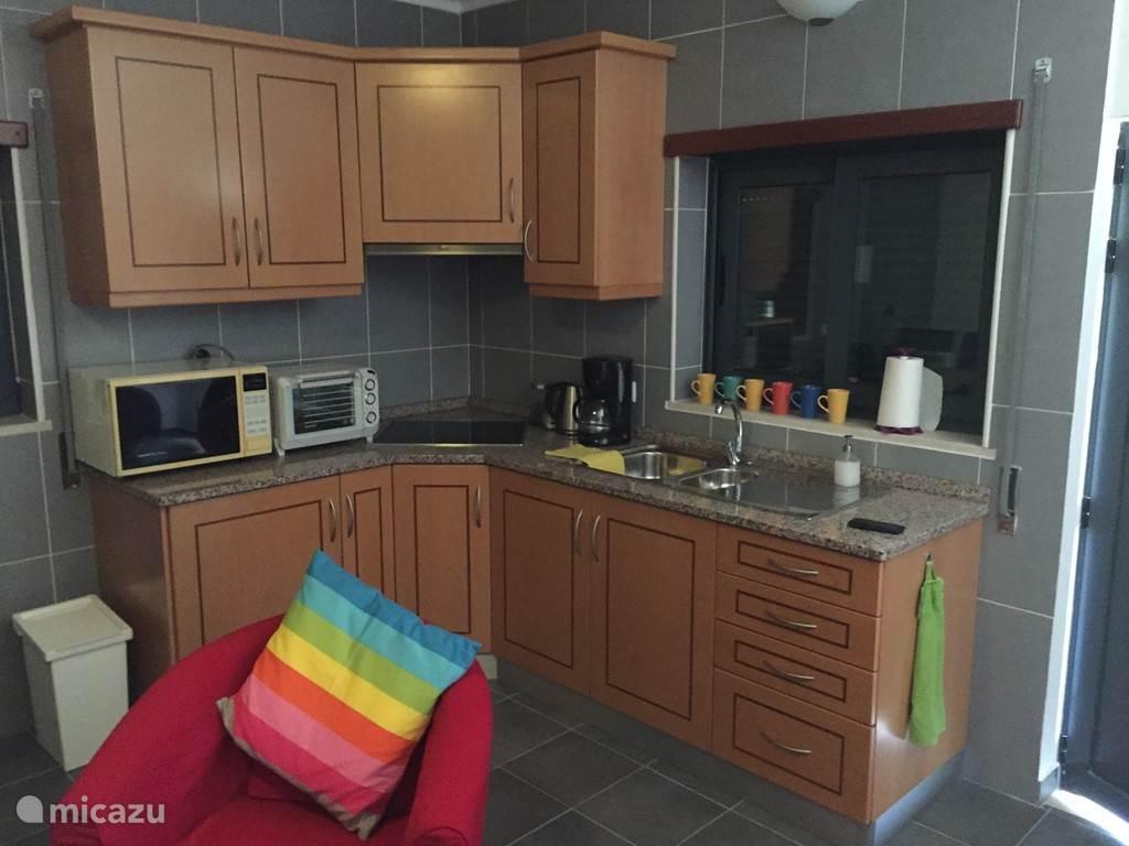 Keuken in het appartement