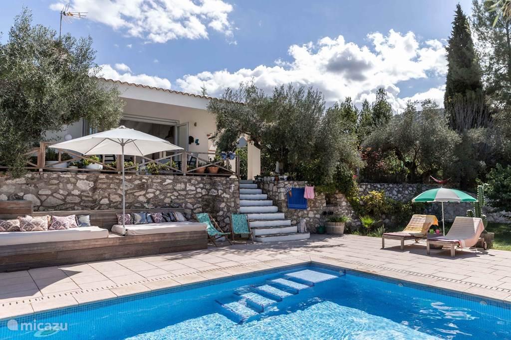 Vakantiehuis Spanje, Valencia, Bocairent villa Luxe Villa Rosa