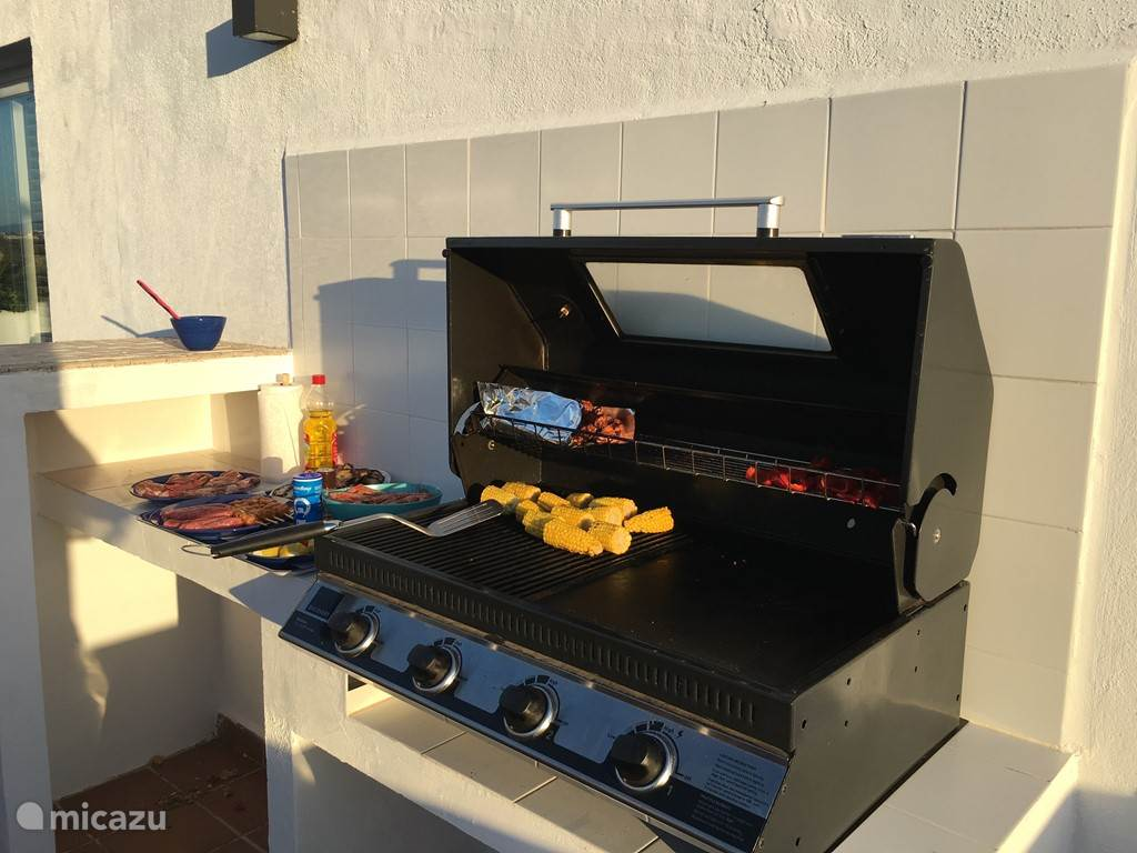 De barbecuehoek