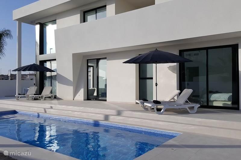 Vakantiehuis Spanje, Costa Blanca, San Fulgencio La Marina Villa Villa Blanca de las Palmeras