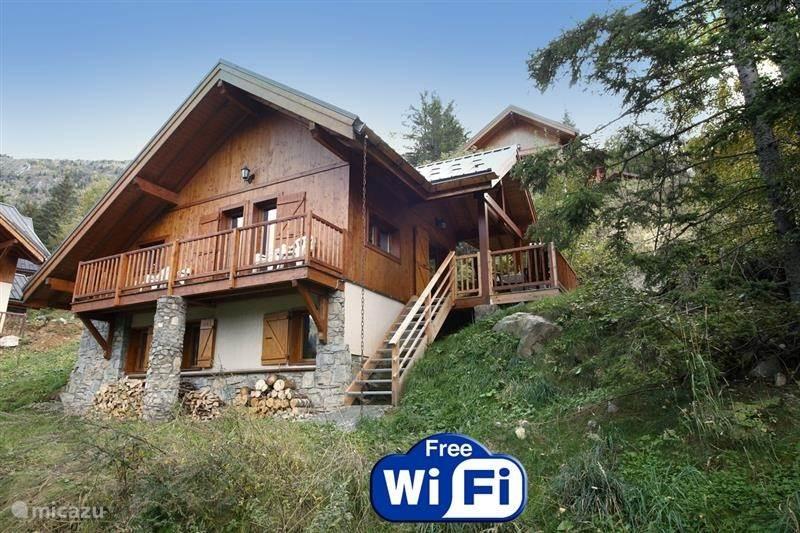 Vacation rental France, Isere, Oz-en-Oisans Chalet La petit refuge