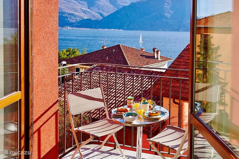 Vakantiehuis Italië, Comomeer, Acquaseria Appartement Lake View Apartment Lake Como Beach