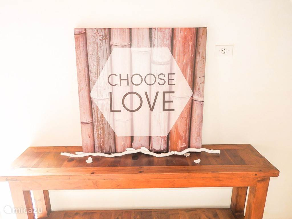 Choose to love and enjoy Bonaire!