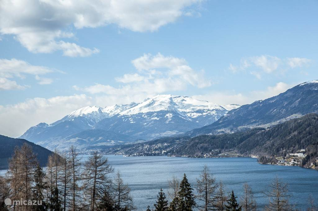 Millstatt, seen from the Mirnock