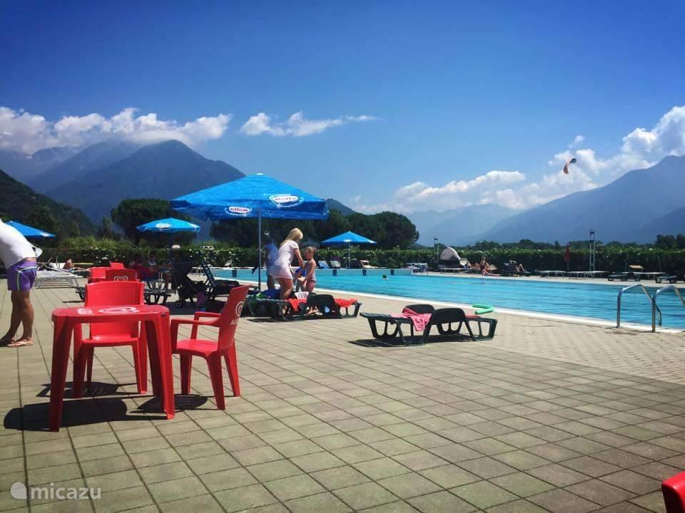 Zwembad op 50 meter