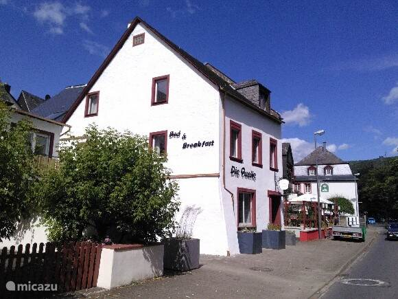 Vacation rental Germany, Moselle, Bernkastel-Kues bed & breakfast B&B die Quelle apartment