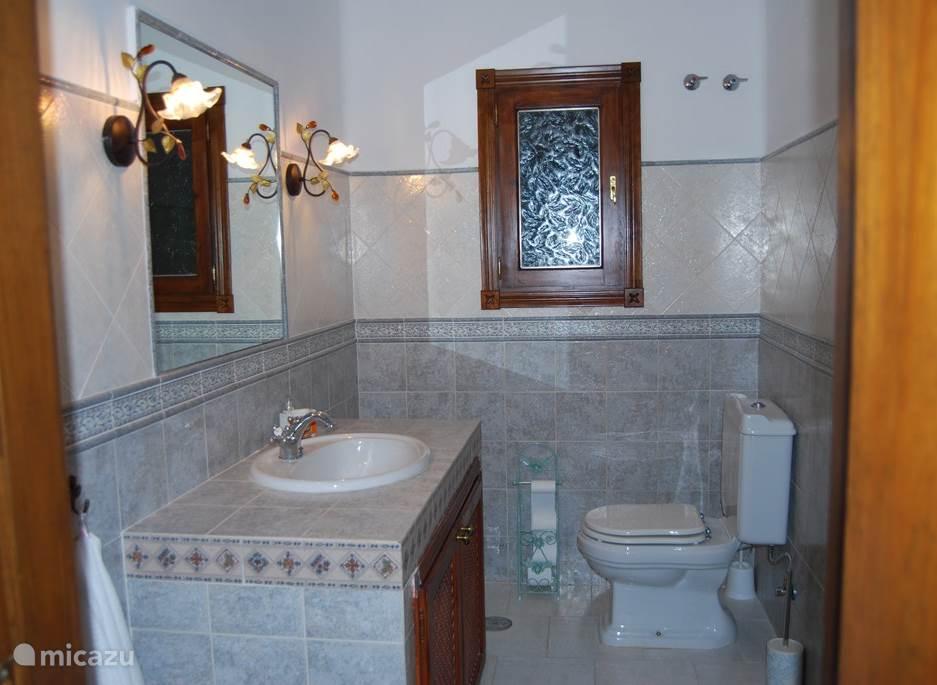 Badkamer van kamer Luna