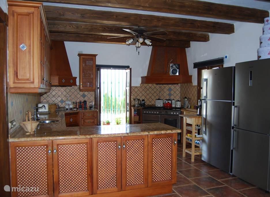 De keuken waar getoverd kan worden.