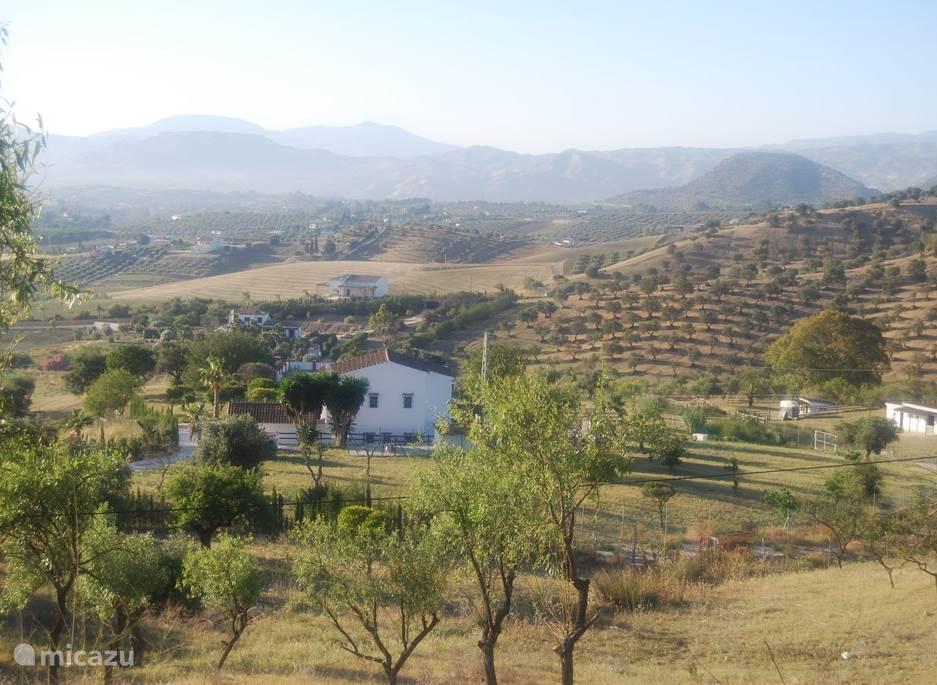 Uitzicht van B&B Casa Emiel.