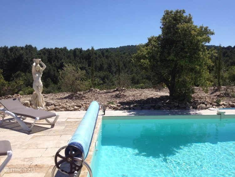 uitzicht en zwembad