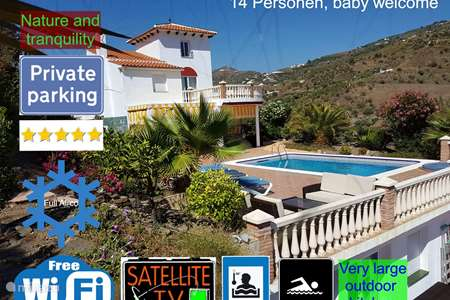 Ferienwohnung Spanien, Costa del Sol, Torrox-Costa villa Villa Bella Vista
