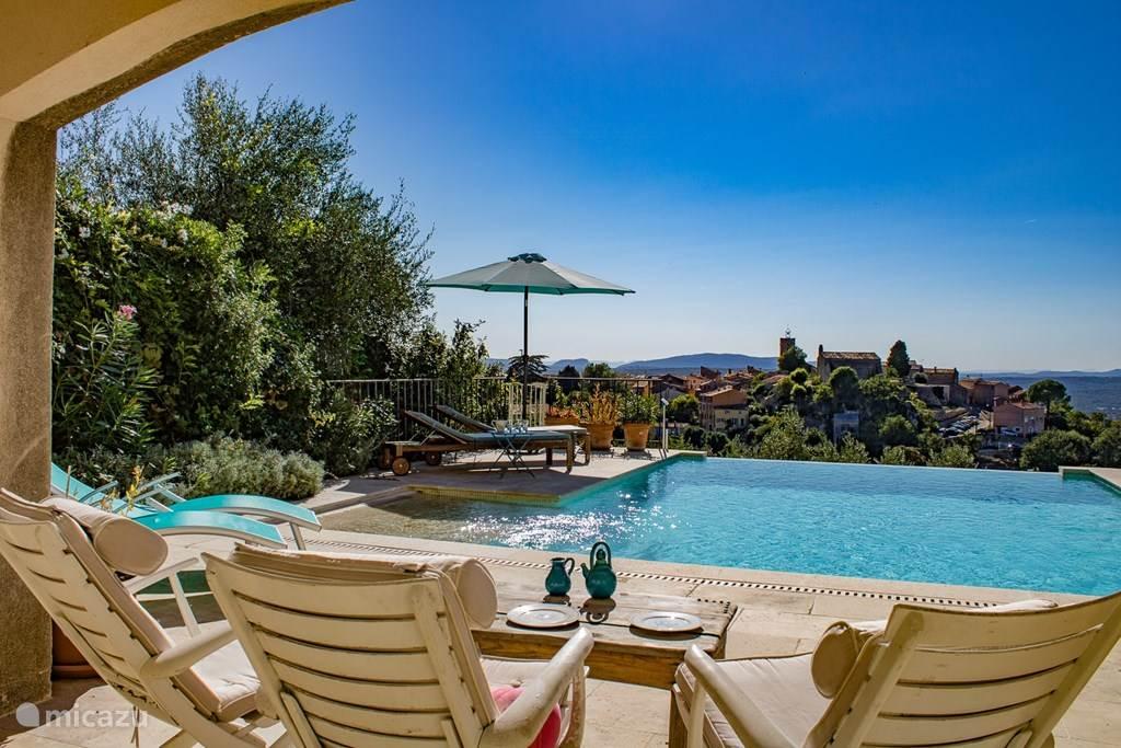 Genieten van de Provence, rust en zon.