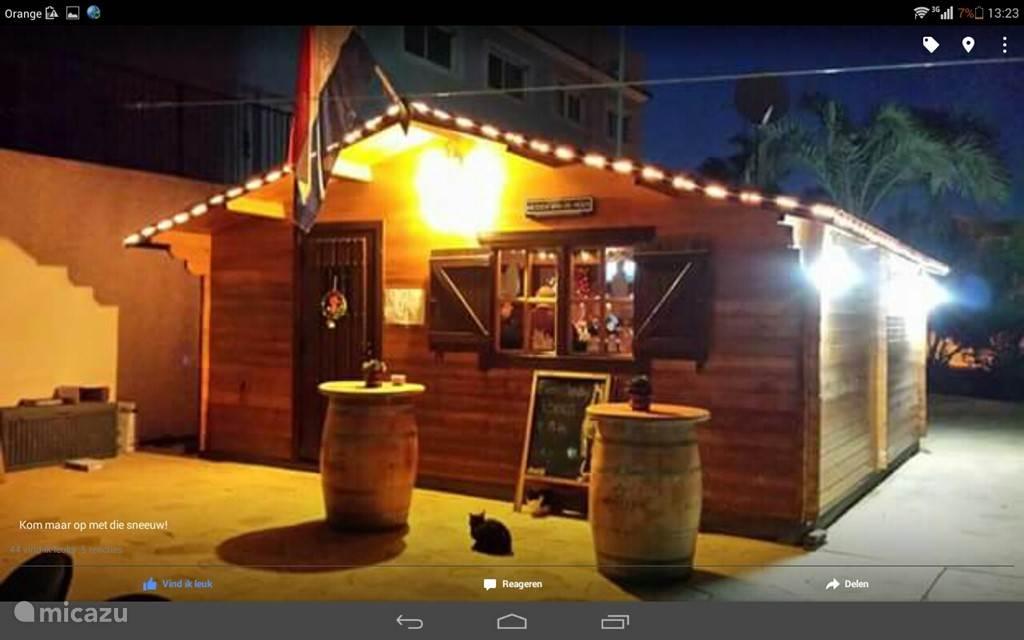De bar op het resort