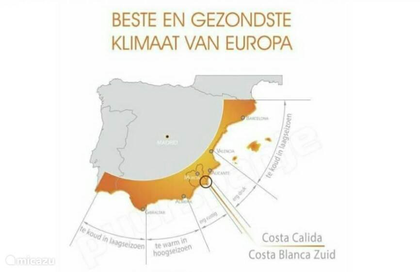 Gezondste klimaat van Europa
