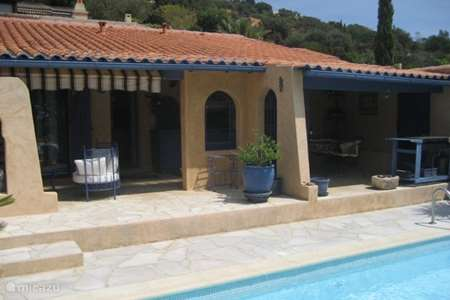 Vacation rental France, French Riviera, La Londe-les-Maures holiday house Le paradis bleu