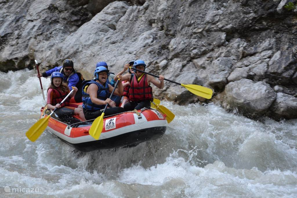 Rafting in de Verdon