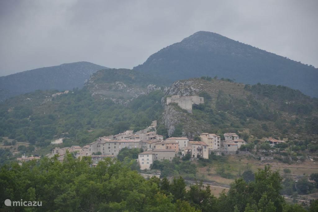Trigance - Village near