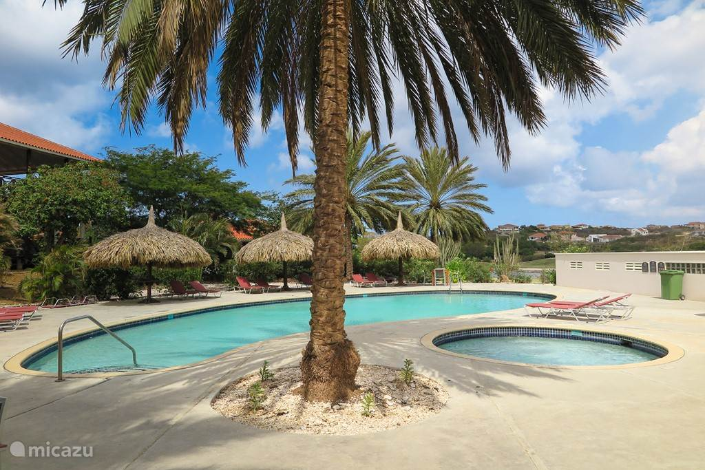 Same beautiful freshwater swimming pool overlooking gardens and golf course.