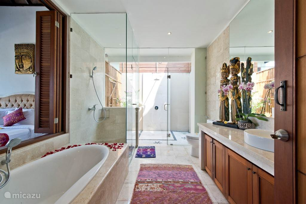 And then this villa has two of these lovely spacious bathrooms.