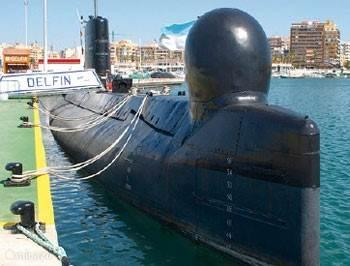 duikboot Torrevieja
