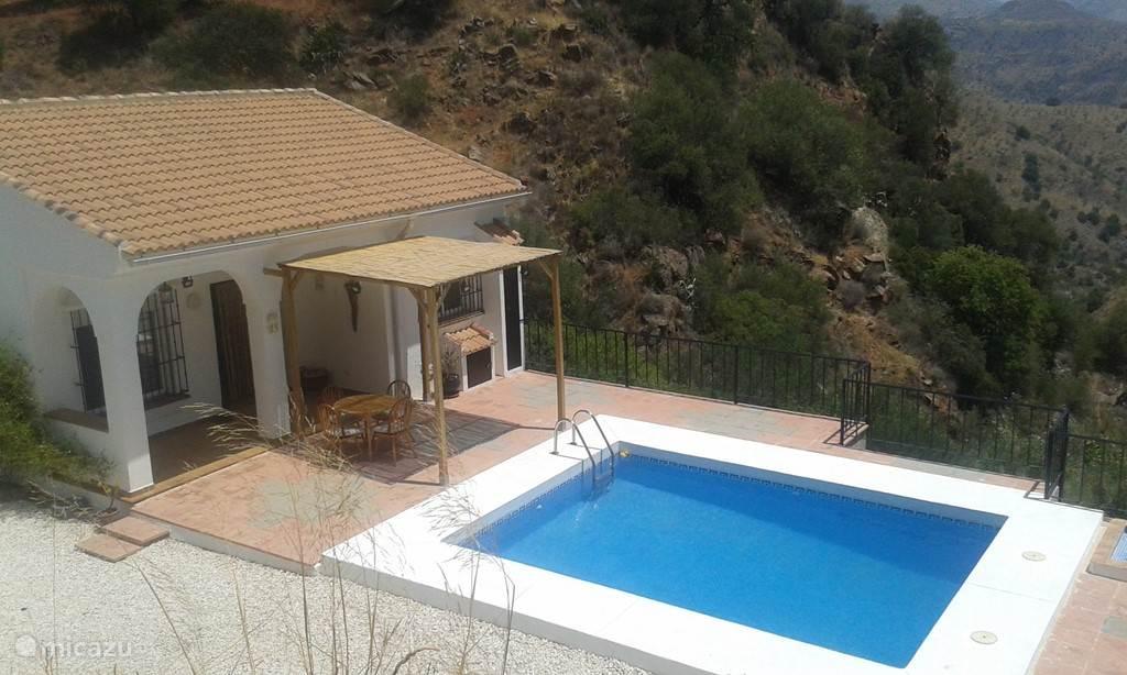 Vakantiehuis Spanje, Andalusië, Almogía Vakantiehuis Casita El Lugar de Paco