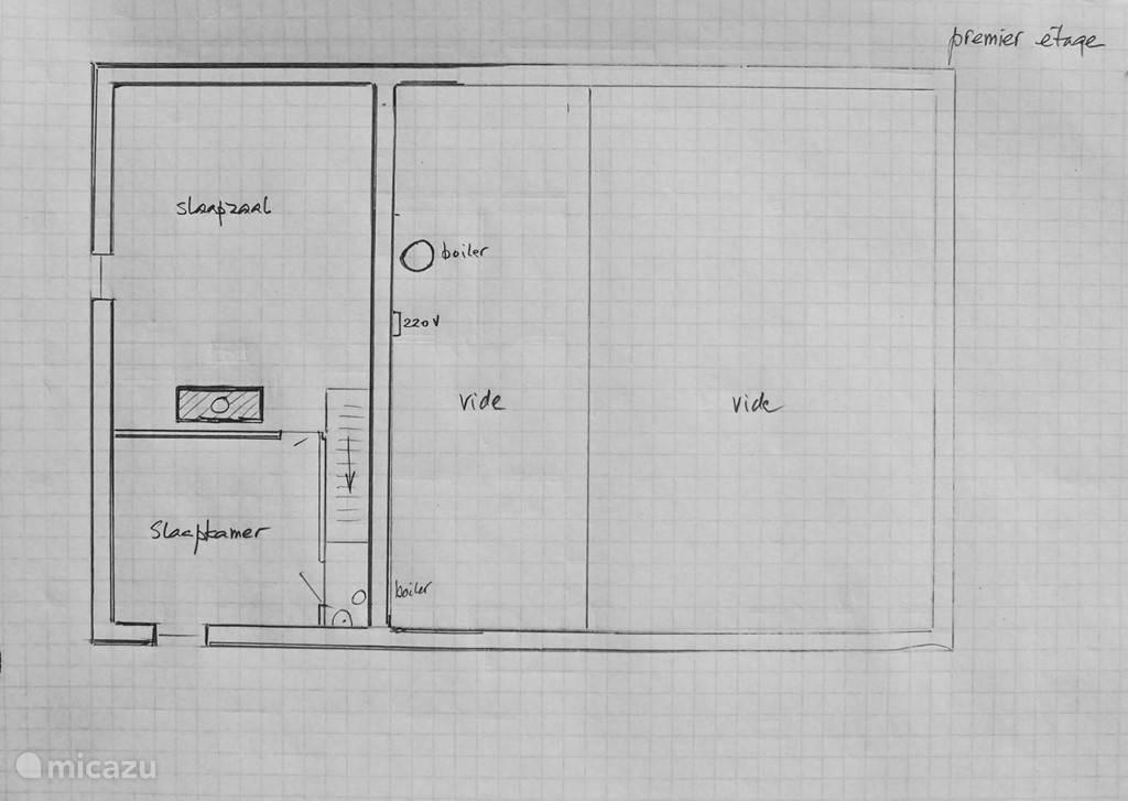 plattegrond premier étage