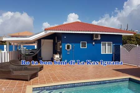 Vacation rental Curaçao, Banda Abou (West), Fontein holiday house La Kas Iguana