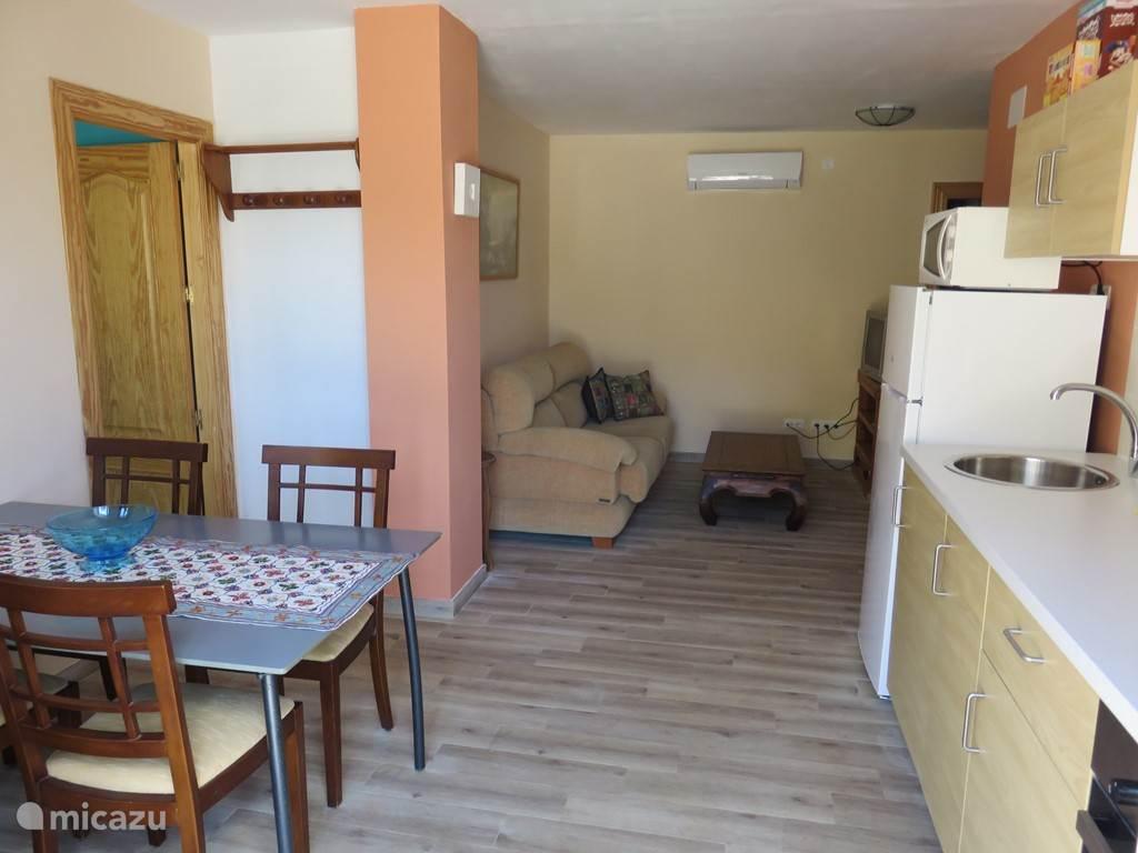 Appartement 2, geschikt tot 5 personen.