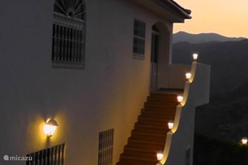 Vakantiehuis Spanje, Andalusië, Guaro Vakantiehuis Nido Aguila Blanca