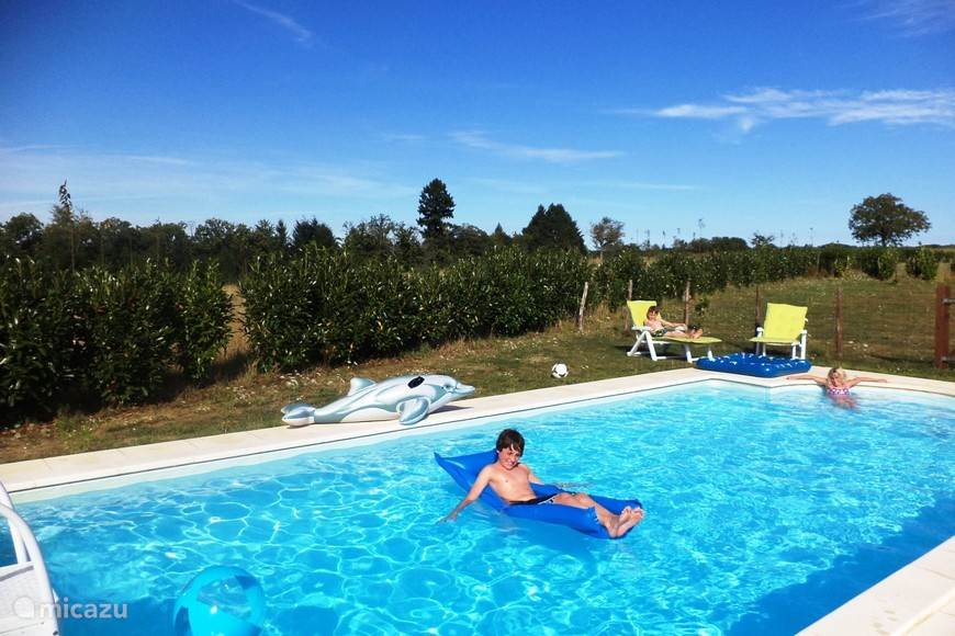 Heerlijk prive zwembad