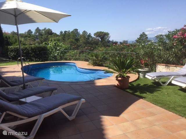 Vakantiehuis Spanje, Costa Brava, Lloret de Mar Villa Celebrar la vida