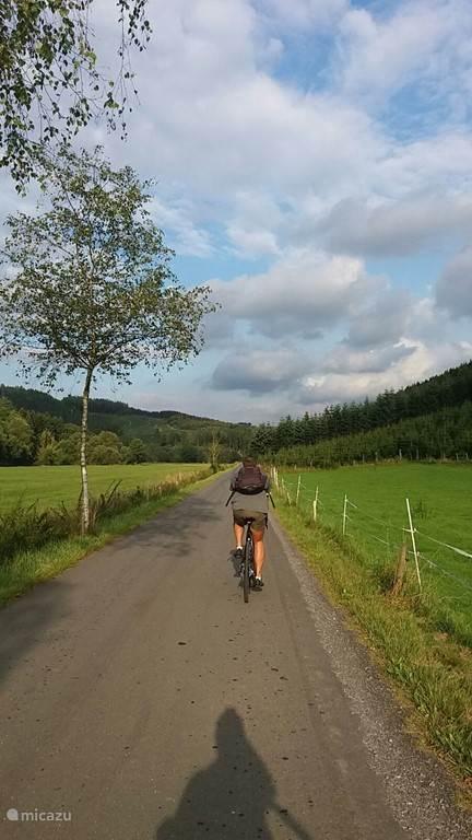 Bike trail.
