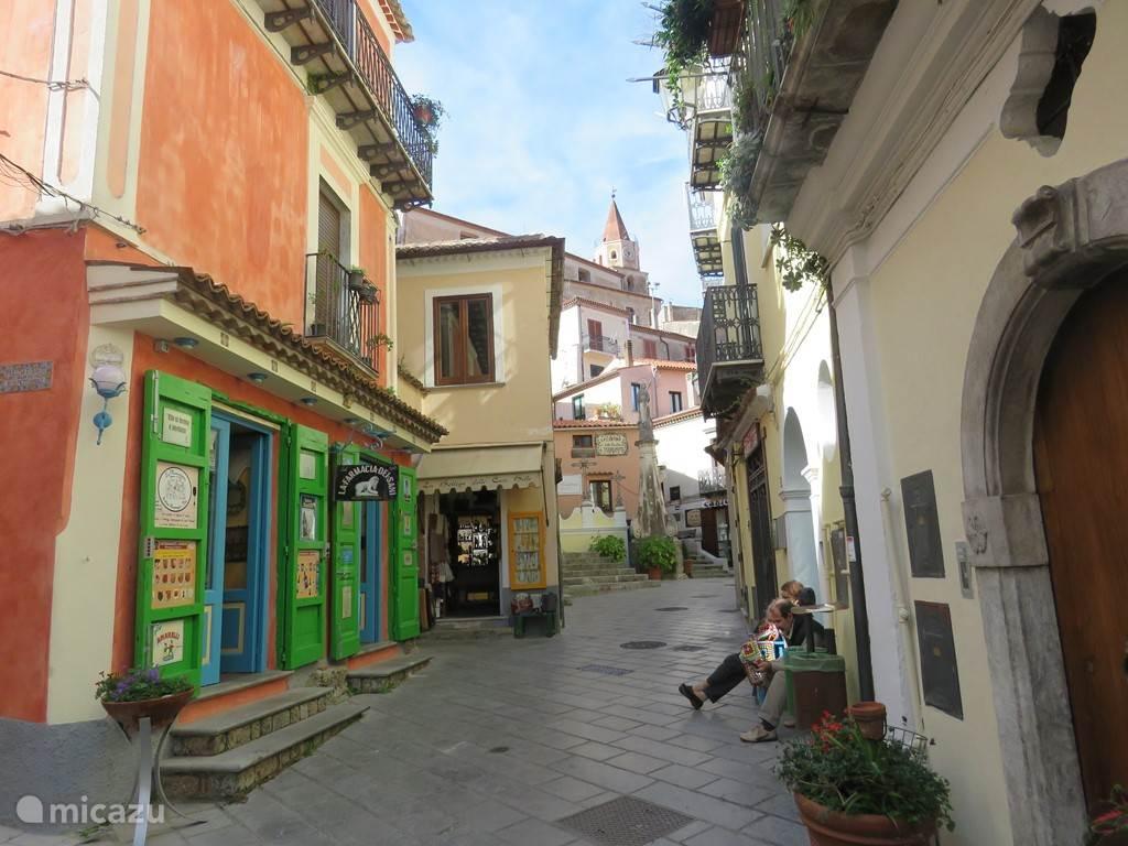historisch centrum van Maratea