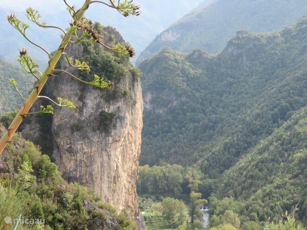 landschap bij Orsomarso