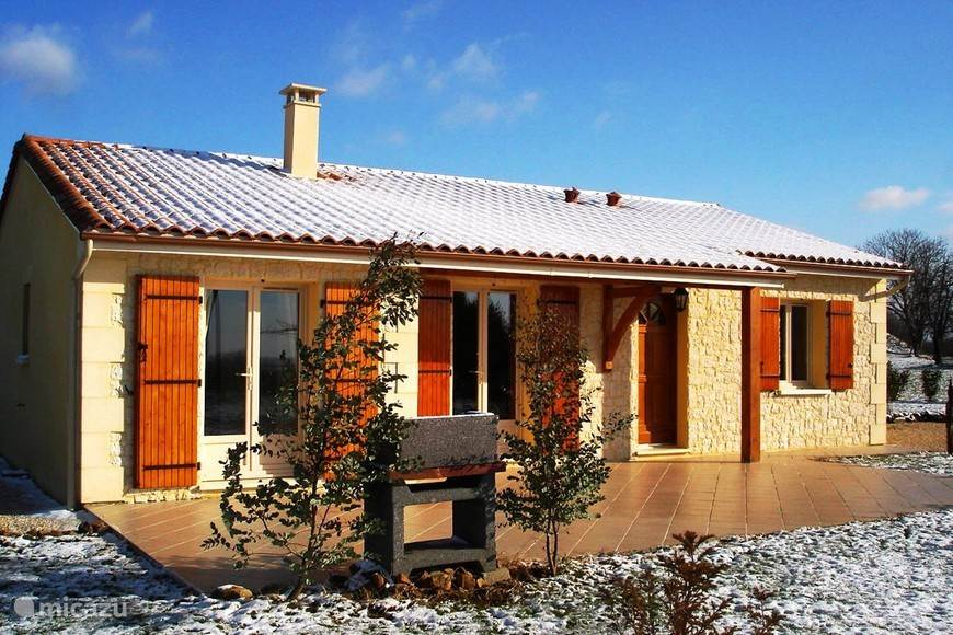 Maison Linchel in de winter