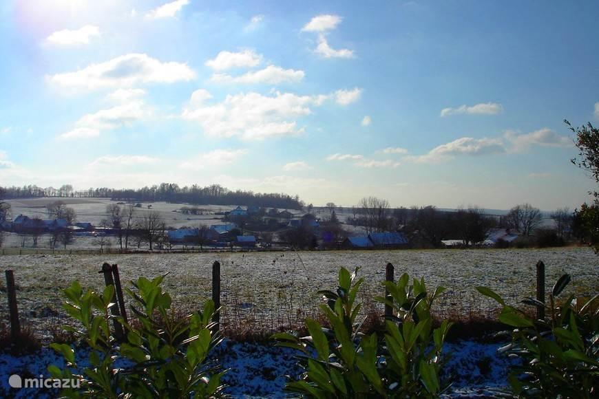 Winterlandschap in de omgeving