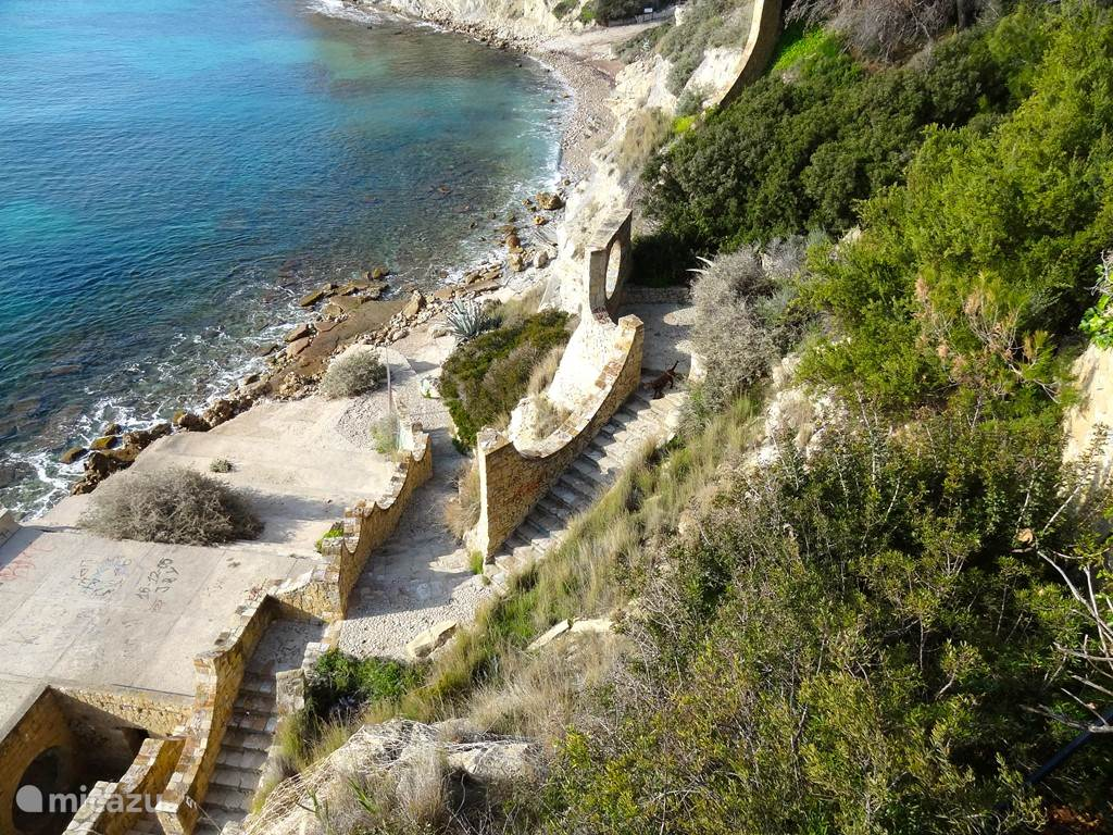 Een schitterende kustwandeling tussen Moraira en Calpe
