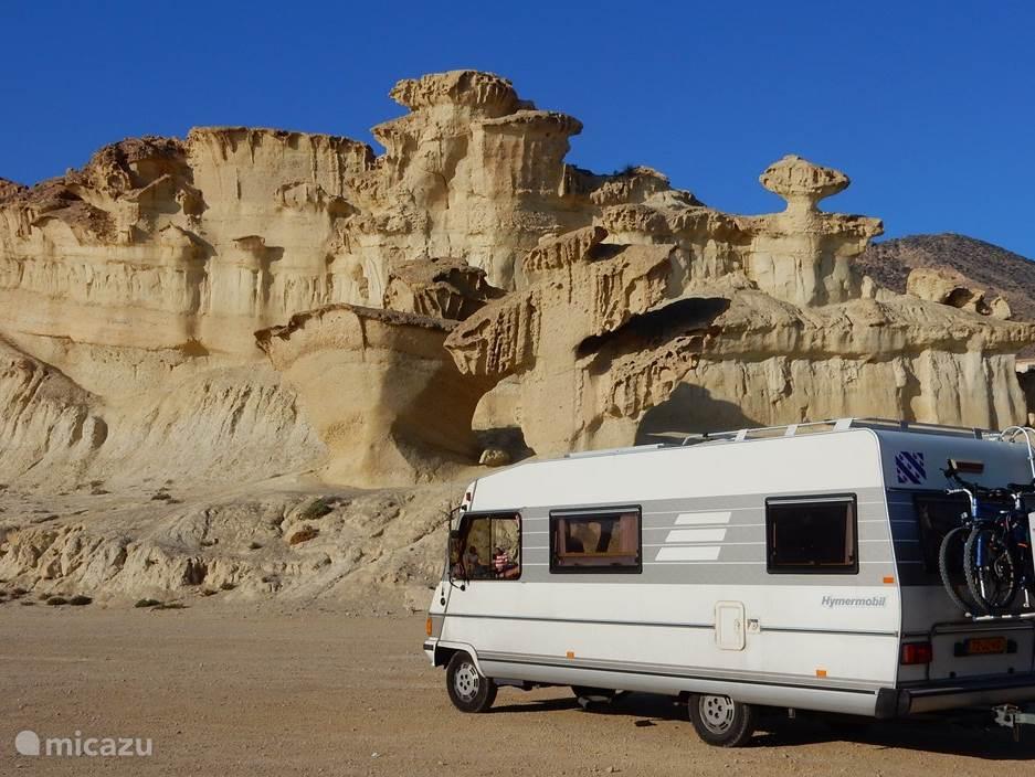Vakantiehuis Spanje, Costa Blanca, Alicante - camper / jacht / woonboot Hymer 644B
