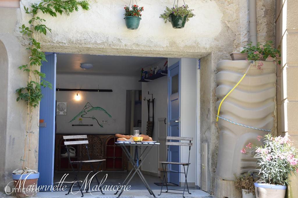Vakantiehuis Frankrijk, Provence, Malaucène stadswoning Maisonnette Malaucène -Mont Ventoux
