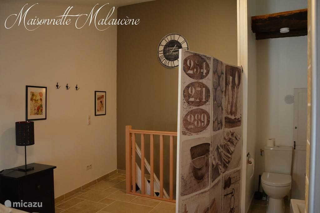 Slaapkamer en trap