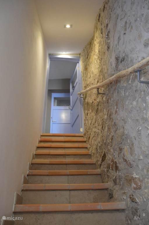 Authentieke trap naar boven