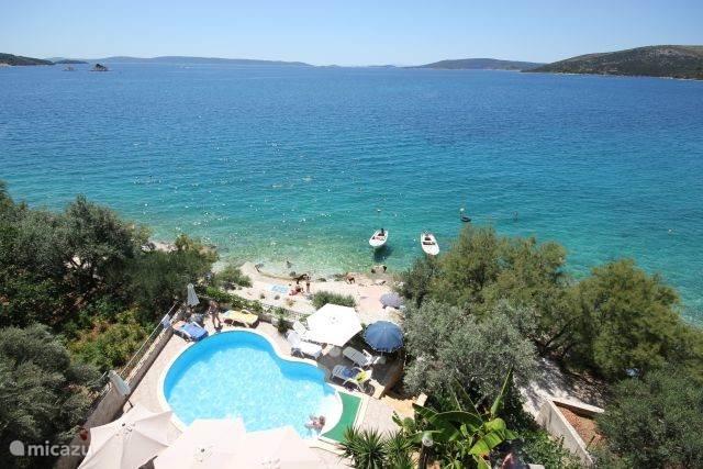 Vakantiehuis Kroatië, Dalmatië, Trogir - appartement Top Locatie 4 km van Trogir