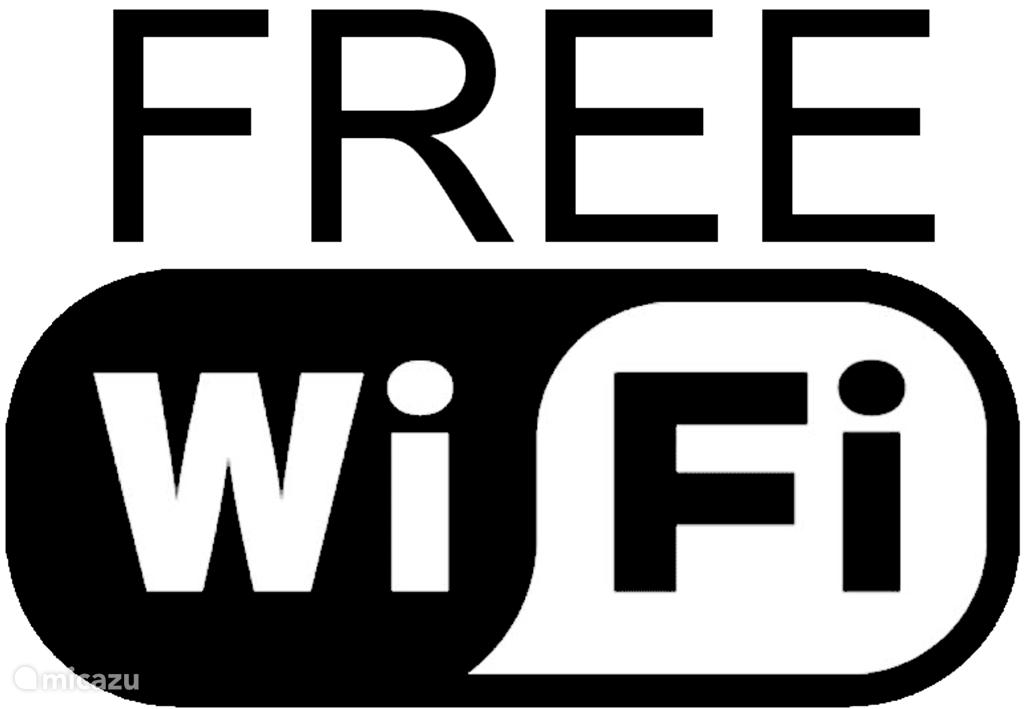 Er is een gratis wifi verbinding dus u blijft in contact met de buitenwereld via email, whatsapp en facebook.