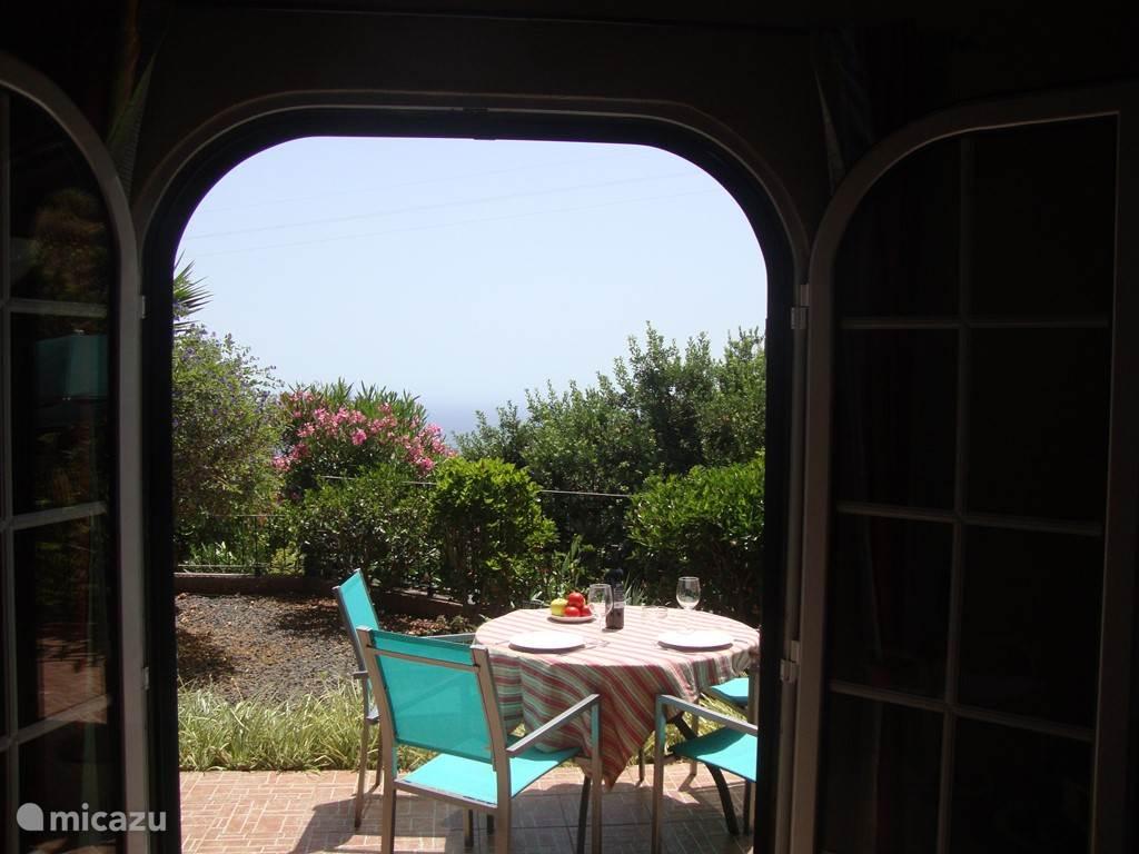 Mooi uitzicht vanuit het huis