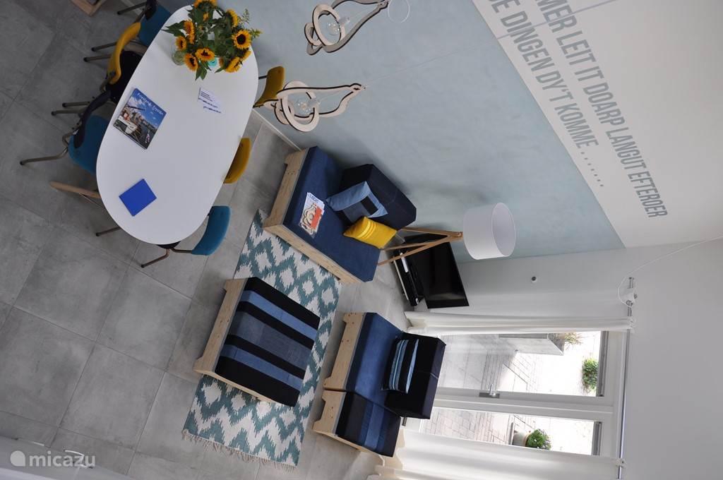 woonkamer met loungeset