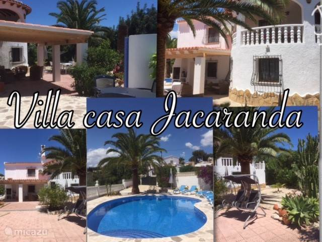 Vacation rental Spain – villa Villa Casa Jacaranda