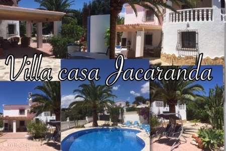 Vakantiehuis Spanje, Costa Blanca, Moraira - villa Villa Casa Jacaranda