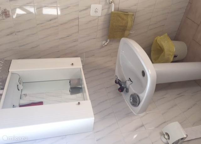 badkamer 1 boven met bad en toilet