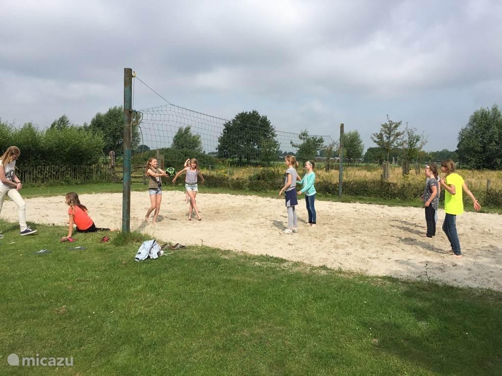 beachvolleybal veld